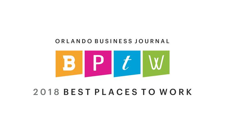 BishopBeale Selected as one of Orlando Business Journal's 2018 Best Places to Work