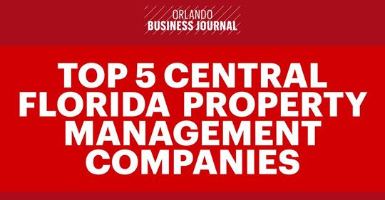 Central Florida's Top 5 Property Management Companies Offer Leasing Advice