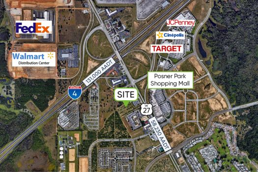 Highway 27 Davenport Main Image Aerial
