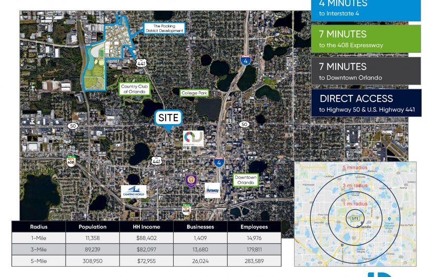 1038 Arlington Street Demo Map