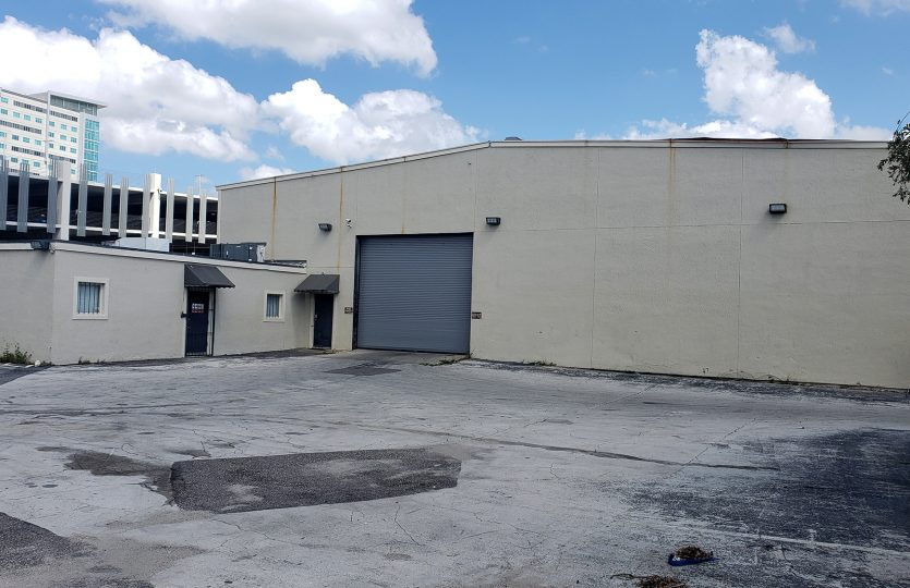 Located in Downtown Orlando, Abutting the New Creative Village Complex Clear Height: 18' - 21' Three Phase Power Drive-Thru Warehouse with Two Roll-Up Doors (16' x 14' & 18' x 14') Property Overview: ±1,300 SF of Finished Office ±10,000 SF of 100% Clear Span Warehouse ±4,700 SF of Covered Outdoor Canopy ±18,000 of Yard Space ±8,000 SF of Fenced Parking with Electric Gate